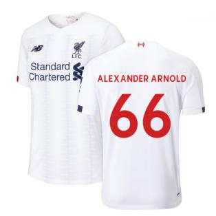 2019-2020 Liverpool Away Football Shirt (Alexander Arnold 66)