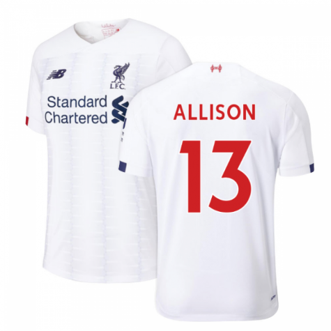 2019-2020 Liverpool Away Football Shirt (Allison 13)
