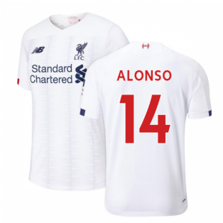 2019-2020 Liverpool Away Football Shirt (ALONSO 14)