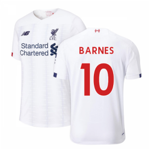 2019-2020 Liverpool Away Football Shirt (BARNES 10)