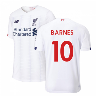 2019-2020 Liverpool Away Football Shirt (BARNES 10)