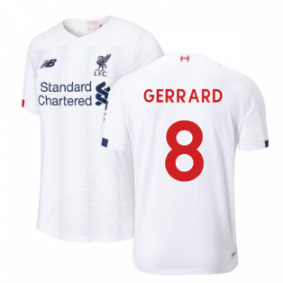 2019-2020 Liverpool Away Football Shirt (GERRARD 8)