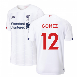2019-2020 Liverpool Away Football Shirt (Gomez 12)