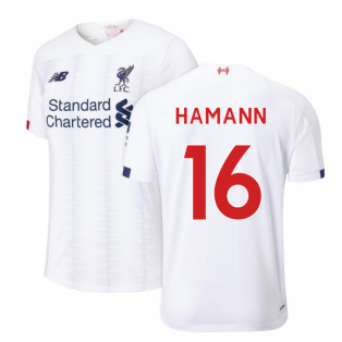 2019-2020 Liverpool Away Football Shirt (HAMANN 16)