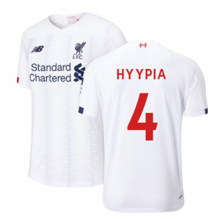 2019-2020 Liverpool Away Football Shirt (HYYPIA 4)