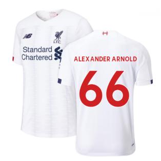 2019-2020 Liverpool Away Football Shirt (Kids) (Alexander Arnold 66)