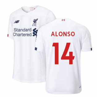 2019-2020 Liverpool Away Football Shirt (Kids) (ALONSO 14)