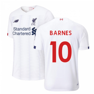 2019-2020 Liverpool Away Football Shirt (Kids) (BARNES 10)
