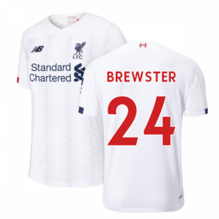 2019-2020 Liverpool Away Football Shirt (Kids) (Brewster 24)