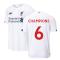 2019-2020 Liverpool Away Football Shirt (Kids) (Champions 6)