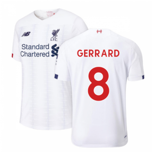 2019-2020 Liverpool Away Football Shirt (Kids) (GERRARD 8)