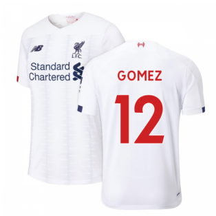 2019-2020 Liverpool Away Football Shirt (Kids) (Gomez 12)