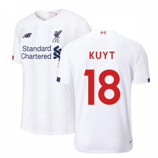 2019-2020 Liverpool Away Football Shirt (Kids) (KUYT 18)