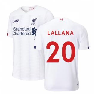 2019-2020 Liverpool Away Football Shirt (Kids) (Lallana 20)