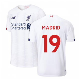2019-2020 Liverpool Away Football Shirt (Kids) (Madrid 19)