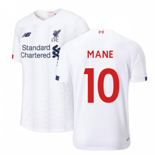 2019-2020 Liverpool Away Football Shirt (Kids) (Mane 10)