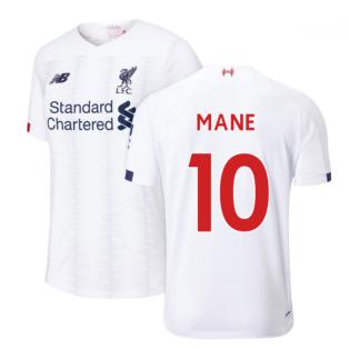 2019-2020 Liverpool Away Football Shirt (Kids) (Mane 10)