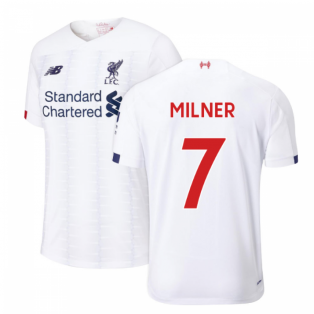 2019-2020 Liverpool Away Football Shirt (Kids) (Milner 7)