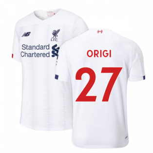 2019-2020 Liverpool Away Football Shirt (Kids) (Origi 27)