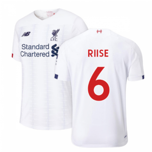 2019-2020 Liverpool Away Football Shirt (Kids) (RIISE 6)