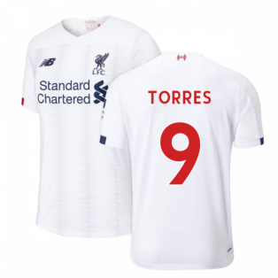 2019-2020 Liverpool Away Football Shirt (Kids) (TORRES 9)