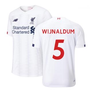 2019-2020 Liverpool Away Football Shirt (Kids) (Wijnaldum 5)