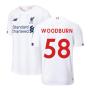 2019-2020 Liverpool Away Football Shirt (Kids) (Woodburn 58)