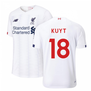 2019-2020 Liverpool Away Football Shirt (KUYT 18)