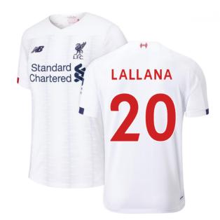2019-2020 Liverpool Away Football Shirt (Lallana 20)