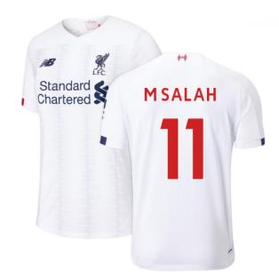 2019-2020 Liverpool Away Football Shirt (M Salah 11)