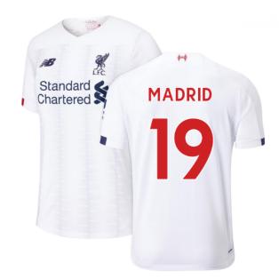 2019-2020 Liverpool Away Football Shirt (Madrid 19)