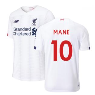 2019-2020 Liverpool Away Football Shirt (Mane 10)