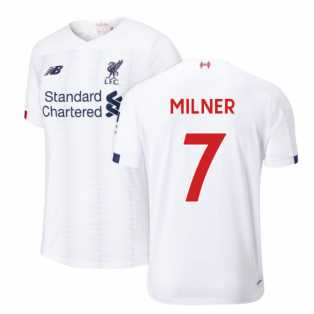 2019-2020 Liverpool Away Football Shirt (Milner 7)