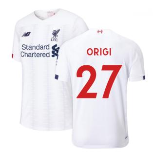2019-2020 Liverpool Away Football Shirt (Origi 27)