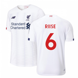 2019-2020 Liverpool Away Football Shirt (RIISE 6)