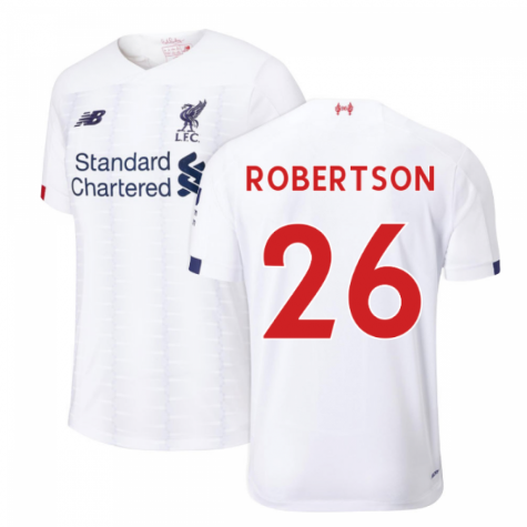 2019-2020 Liverpool Away Football Shirt (Robertson 26)