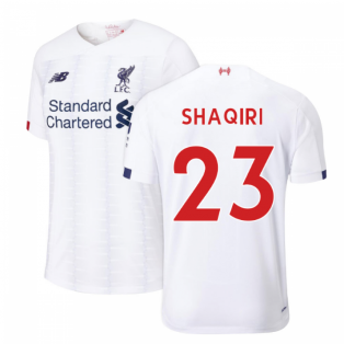 2019-2020 Liverpool Away Football Shirt (Shaqiri 23)