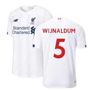 2019-2020 Liverpool Away Football Shirt (Wijnaldum 5)