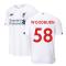 2019-2020 Liverpool Away Football Shirt (Woodburn 58)
