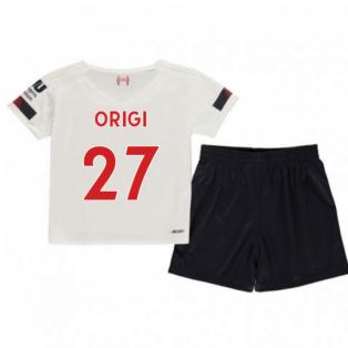 2019-2020 Liverpool Away Little Boys Mini Kit (Origi 27)