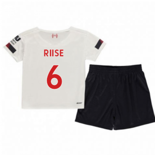 2019-2020 Liverpool Away Little Boys Mini Kit (RIISE 6)