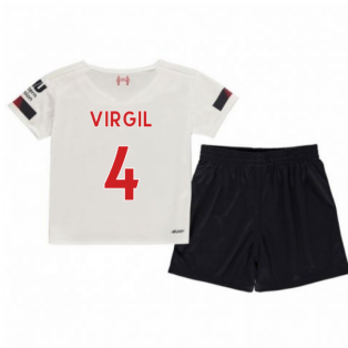 2019-2020 Liverpool Away Little Boys Mini Kit (Virgil 4)