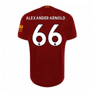 2019-2020 Liverpool Home Football Shirt (Alexander-Arnold 66) - Kids