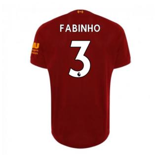 2019-2020 Liverpool Home Football Shirt (Fabinho 3) - Kids