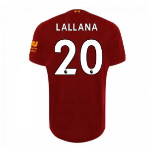 2019-2020 Liverpool Home Football Shirt (Lallana 20) - Kids