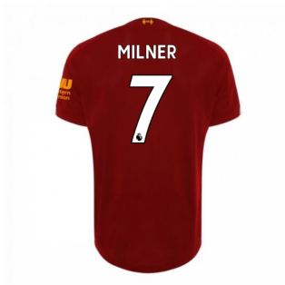 2019-2020 Liverpool Home Football Shirt (Milner 7)