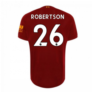 2019-2020 Liverpool Home Football Shirt (Robertson 26) - Kids
