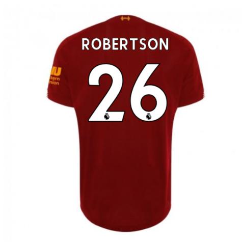 2019-2020 Liverpool Home Football Shirt (Robertson 26) - Kids