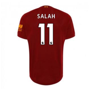 2019-2020 Liverpool Home Football Shirt (Salah 11) - Kids