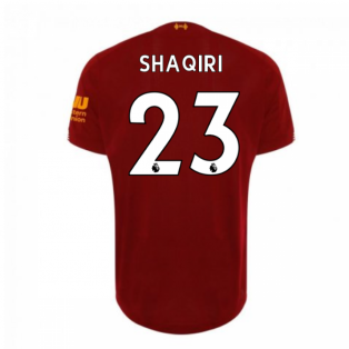 2019-2020 Liverpool Home Football Shirt (Shaqiri 23) - Kids